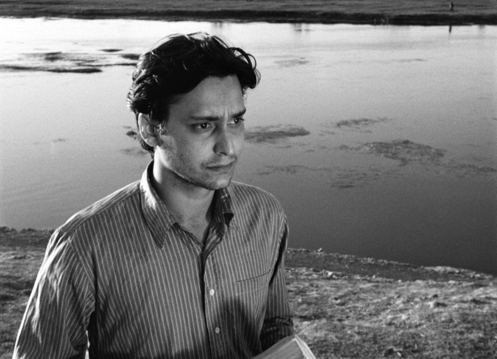 Apu played by Soumitra Chatterjee, Apur Sansar