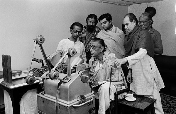 Satyajit Ray editing