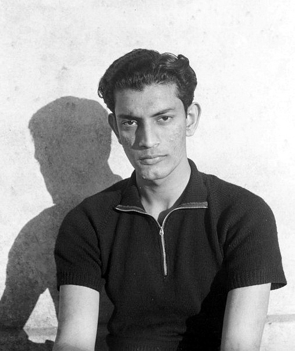 22 years old Satyajit Ray ©Ray Family