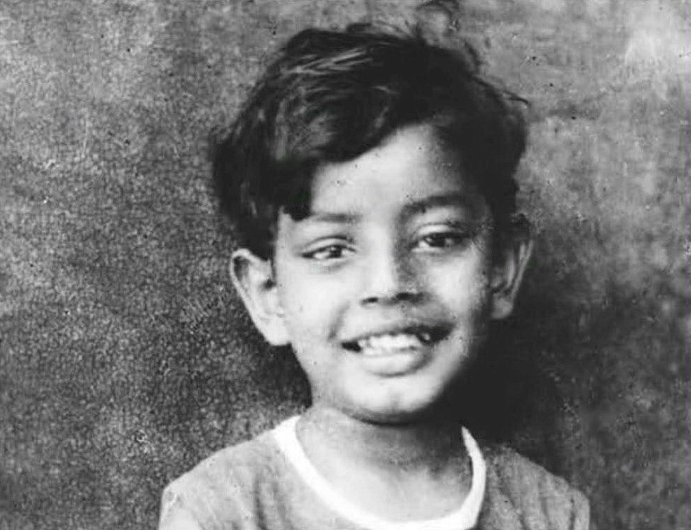 Young Satyajit Ray ©Ray Family