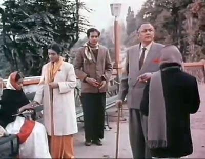 Monisha, Ashoke, Indranath and Labanya