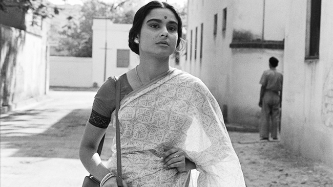 Arati played by Madhabi Mukherjee