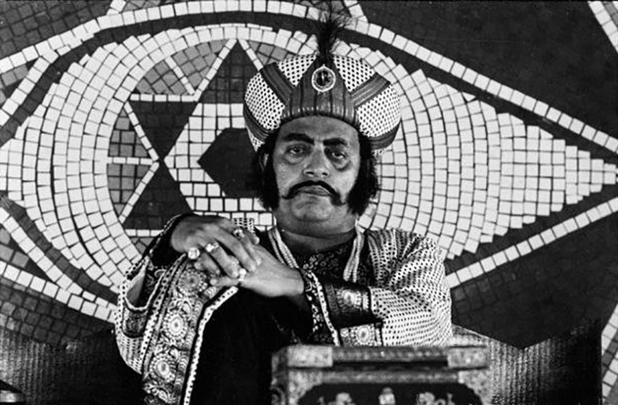 King of Shundi (Utpal Dutt) ©Nemai Ghosh