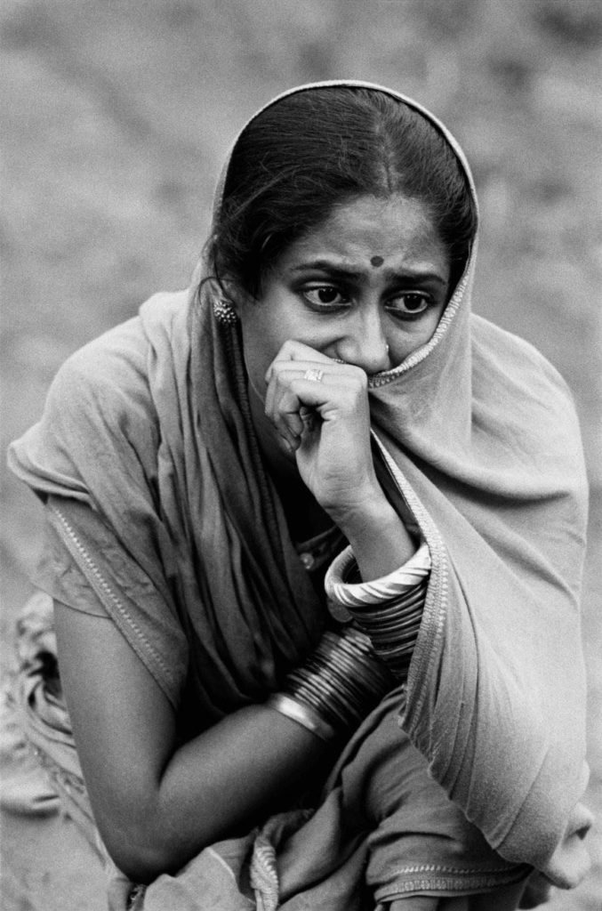 Jhuria (Smita Patil) ©Nemai Ghosh