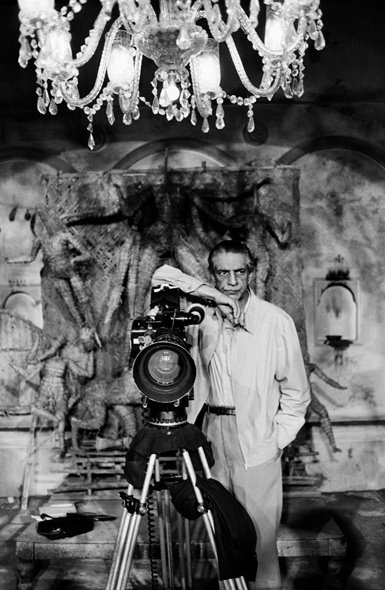 Ray behind the camera for An Enemy of the People (1989) ©Nemai Ghosh