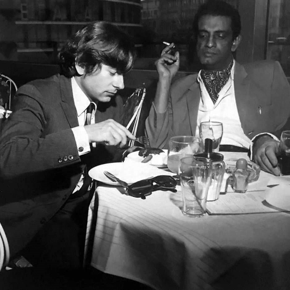 Roman Polanski and Satyajit Ray at the 16th Berlin International Film