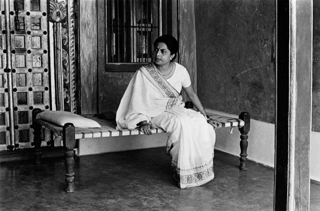 Lakshmi, Ghashiram's wife (Gita Siddharth) ©Nemai Ghosh