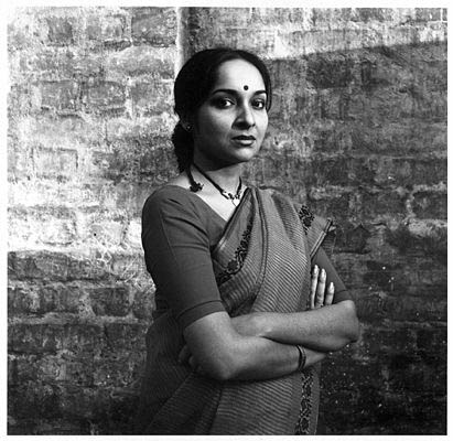 Mamata Shankar (Indrani) on the sets ©Denis Darzacq