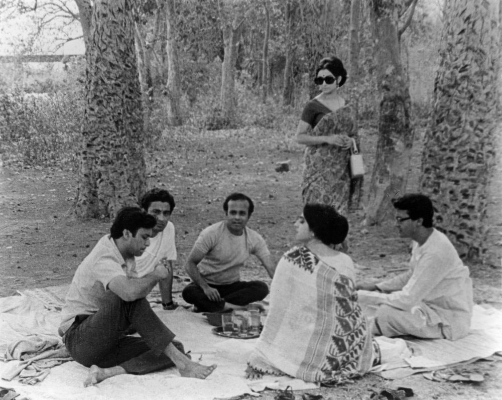 Asim, Hari, Sekhar, Jaya, Aparna and Sanjoy ©Nemai Ghosh